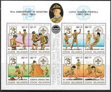 COOK ISLANDS SGMS883 1983 XV WORLD SCOUT JAMBOREE MNH