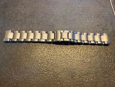 TIFFANY & Co 19mm Stainless Steel RESONATOR WATCH Bracelet ONLY - NOT A WATCH