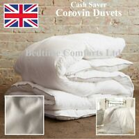 "DOUBLE 4'6"" ""CASH SAVER"" COROVIN DUVET QUILT Hollow Fibre All Size and Tog 13.5"