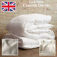 "SUPER KING SIZE 6' ""CASH SAVER"" COROVIN DUVET QUILT Hollow Fibre (All Sizes) 4.5"