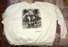 Hanes Seatshirt Size 5XL marked Macinaw Ciry, Michigan with 1 Large Bear & 3 sm