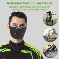 Anti Dust Cycling Bicycle Bike Motorcycle Racing Sport Half Face shiled Filter