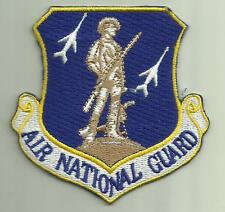 AIR NATIONAL GUARD USAF PATCH FIGHTERJET AIRCRAFT SOLDIER AIRLIFT PILOT CREW USA