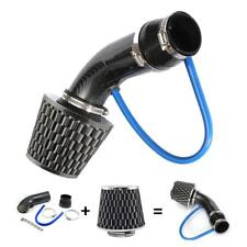 "Air Intake Kit Black Pipe Diameter 3"" +Cold Air Intake Filter+Clamp+ Accessories"