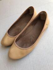 UGG Australia Nude Ballet Flats Size 8 Patent Leather Women Medium Antora Shoes