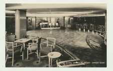 """EMPRESS OF BRITAIN"" EMORESS ROOM, CANADIAN PACIFIC POSTCARD, UNUSED (SEE BELOW)"