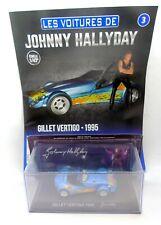32820 IXO / HACHETTE / JOHNNY HALLYDAY / GILLET VERTIGO 1995 1/43