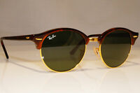 RAY-BAN Mens Womens Unisex Sunglasses Brown Round CLUBROUND RB 4246 990 22905