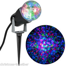 NEW Gemmy Outdoor Multicolor Light Show Christmas Holiday Projector