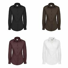 Cotton Blend Formal Tops & Shirts for Women