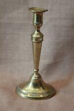 Rare 18th Century Brass Candlestick by William A. Harrison Birmingham England