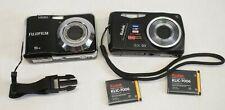 Kodak Easyshare M575 & FujiFilm Finepix AX330 Digital Camera - Black