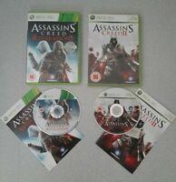 Assassins Creed 2 And Assassins Creed Revelations X Box 360