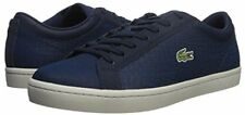 Lacoste Straightset SP 417 1 Men  Sneakers Navy Leather  10.5US  NIB