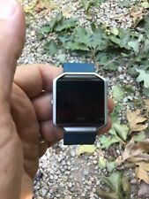 FITBIT BLAZE Smart Fitness Watch LARGE BLACK Used No Reserve