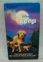Walt Disney BENJI THE HUNTED VHS VIDEO Dog