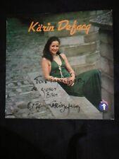 Karin  Defacq - LP  signed by artist