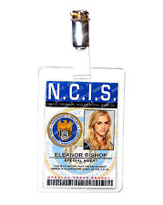 NCIS Eleanor Bishop ID Badge Forensic Specialist Cosplay Costume Prop Comic Con