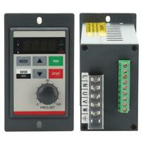 Small Frequency Inverter 0.2 0.75KW Single Phase 220V VFD Motor Speed Controller