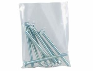 Priory Direct Heavy Duty Clear Polythene Bags Suitable for Food Use