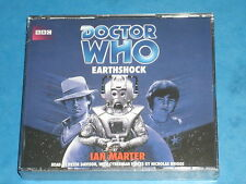 Doctor Who 'EARTHSHOCK'  BBC Audio CD Read By PETER DAVIDSON (Death Of Adric!!)