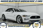 2019 Ford Mustang GT Premium 2019 Ford Mustang GT Premium 18467 Miles Oxford White 2D Convertible 5.0L V8 Ti-
