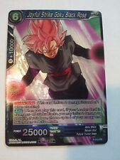 Dragon Ball Super Card Game Tournament Pack 2 JOYFUL STRIKE GOKU BLACK ROSE FOIL