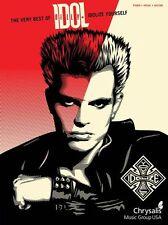 Billy Idol Idolize Yourself Learn to Play Pop Punk Rock Guitar TAB Music Book