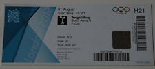 old TICKET Olympic games 2012 London Weightlifting 1. Jong Sim Rin North Korea