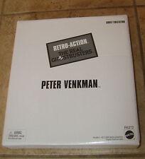 "Real Ghostbusters 8"" PETER VENKMAN Retro 8""Figure Mattel MIB NEW FREE S/H"