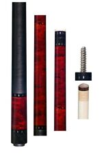 "New OB-127 Cue - Burgundy Stained Cue with Wrap - 30"" OB1+ 12.75mm Shaft"