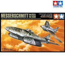 Tamiya 61604 Messerschmitt Me262A/Me163B 1/100 scale plastic model kit