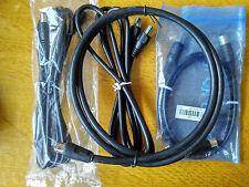 1M RF TV Aerial Lead Male Plug to Female Socket Cable Extension Lead Coaxial