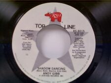 "ANDY GIBB ""SHADOW DANCING / AN EVERLASTING LOVE""  45 OLDIE MINT UNPLAYED"