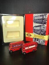 EFE 1/76 Scale London Transport Leyland RTL STD Diecast Model Bus Set