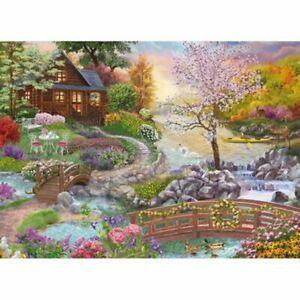 Spring Stream 500 Piece Jigsaw Puzzle  h1