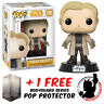 FUNKO POP STAR WARS SOLO TOBIAS BECKETT EXCLUSIVE + FREE POP PROTECTOR