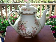 ROYAL DOULTON LISETTE TEAPOT TEA POT 5 CUP ROYAL COLLECTION FINE BONE CHINA