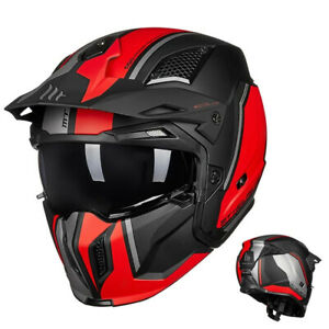 New Full Face Motorcycle Helmets Modular MT Personality Changeable Moto Helmets