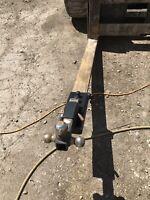 Tractor Forklift Loader Trailer Camper Farm Ag Hitch Receiver Skid Steer