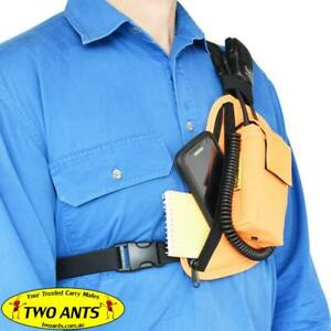 Radio Pouch Chest Harness Left Single - Two Ants Trap Jaw CT200SLOE
