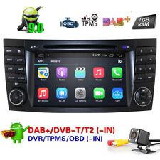 CAM+Android9.0 Car Radio DVD GPS SatNav Stereo Headunit for MERCEDES Benz E-W211