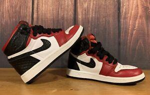 Nike Air Jordan 1 Retro High Satin Snake Chicago (PS) Size 11C CHILD CU0449-601