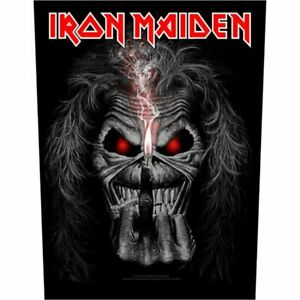 """IRON MAIDEN - """"EDDIE CANDLE FINGER"""" - LARGE SIZE - SEW ON BACK PATCH"""