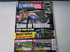 ** France Routes n°326 Renault Optifuel Lab / Daf XF / Les camions du nascar