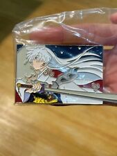 Anime Inuyasha Kikyo Sesshoumaru Metal Brooch Pin badge Bedge Collection Gifts N