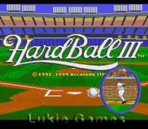 Hardball III 3 - SNES Super Nintendo Game