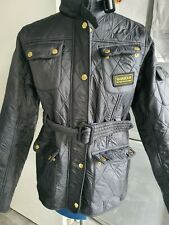 Barbour International Polarquilt BLACK Jacket  AGE 14/15 WILL FIT UK 8