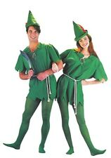 Adult Unisex Peter Pan Costume One Size Robin Hood Outfit Halloween Party New