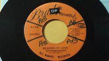 "Barry Heptones - Meaning of Love Killer /Reggae 45"" on Brads Label"